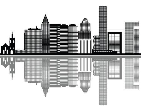 houston: houston skyline