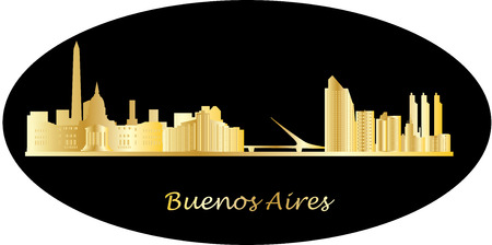 aires: buenos aires skyline