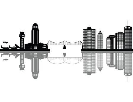 montreal city: montreal city skyline