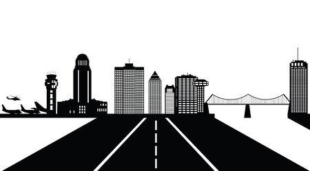 montreal: montreal canada city skyline
