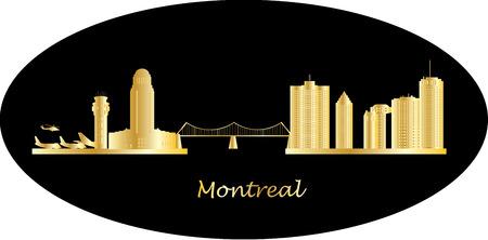 montreal: montreal city skyline