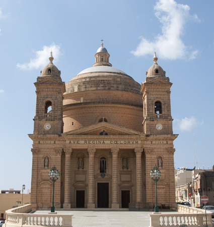 regina: ave regina coelorum church on the spanish island Malta