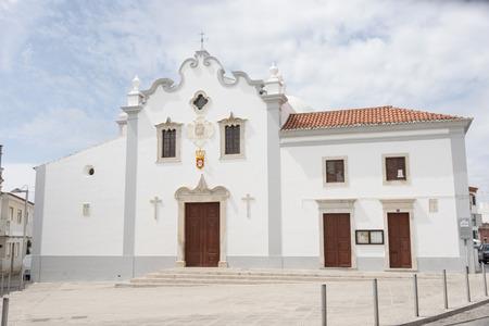 lorenzo: San Lorenzo Church Faro, Loule. In Portugal.