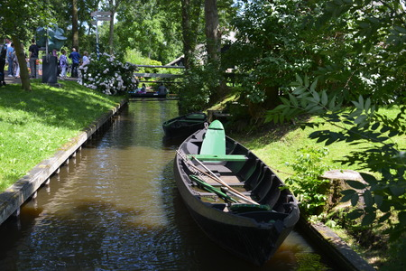 holland: giethoorn in holland Stock Photo