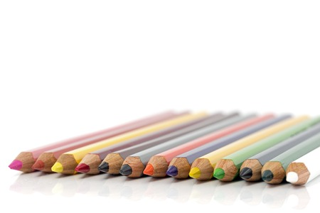 crayon adn pencils in all colors