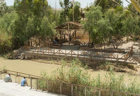Qasr el Yahud on the Jordan river near Yericho