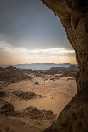 the arches in timna national park