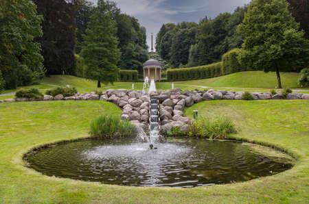 landscape gardens of kleve Foto de archivo