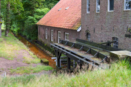 old watermill in Wenum