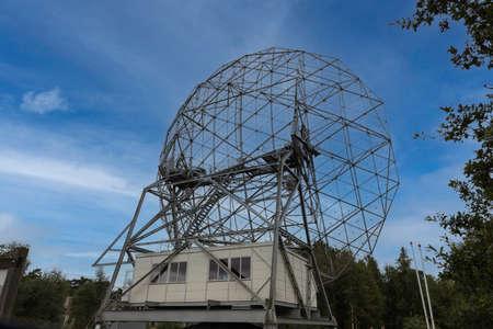 the biggest radio telewcope in holland near dwingelo