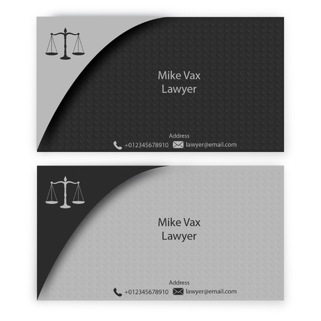 lawyer business card stock vector 66708498 - Business Card Stock