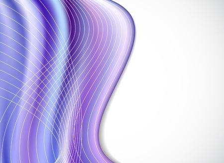 wavy violet vector background  eps8 Illustration