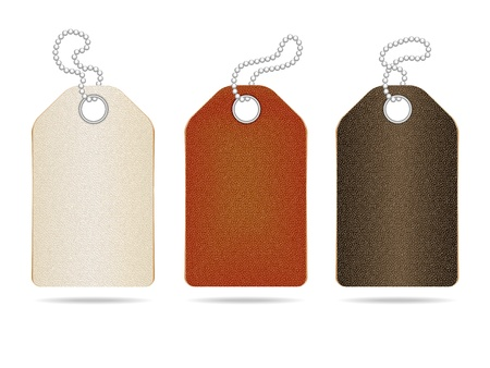 leather label: Leather labels  Illustration