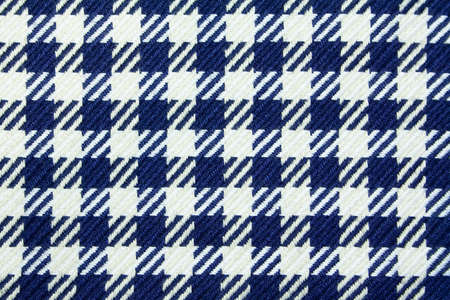 Natural textured background of blue and white squares