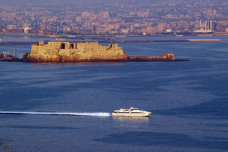 fortezza: Golfo di Napoli - Italia                                 Stock Photo