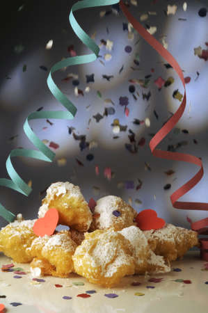 carnevale: Frittelle di carnevale Stock Photo
