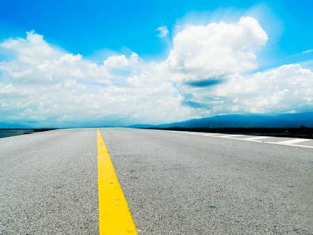 milestone: street and sky