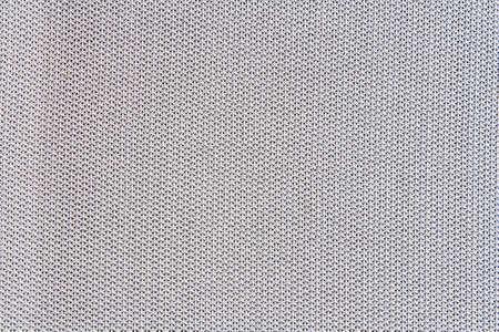 The white mesh fabric photo