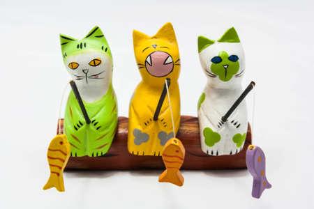 Fishing Cat Dolls Stock Photo - 14744330