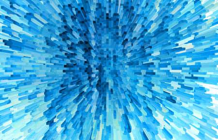 azul marino: Fondo abstracto de bloques azules