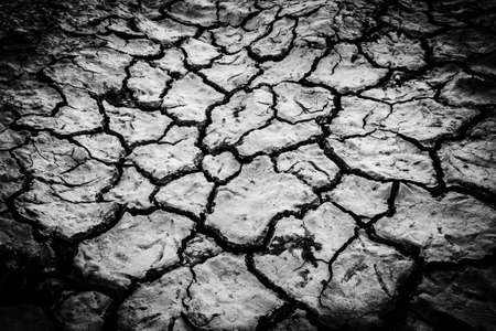 hot climate: Cracked ground
