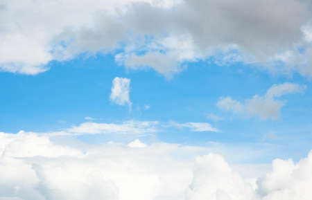 Blue sky with clouds Stock Photo - 17664540