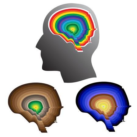 Creative brain Stock Vector - 17854942