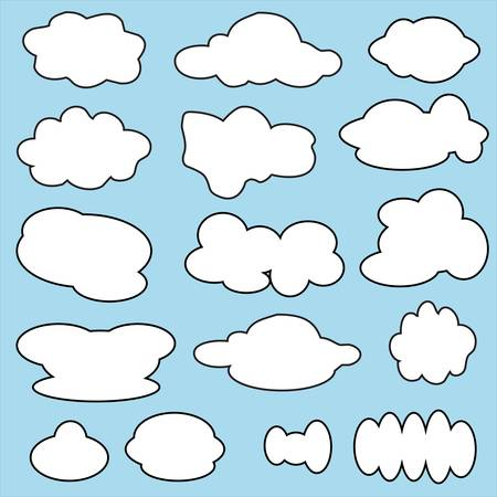Clouds Stock Vector - 17854936