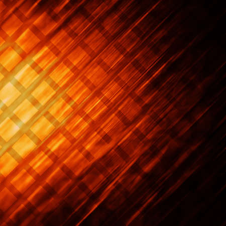 abstract orange square Stock Photo - 17974941