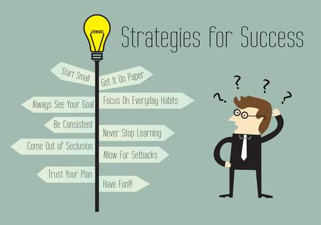 differential focus: Strategies for Success, Use these ideas to meet your goals Illustration