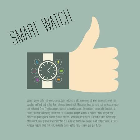 smart watch Stock Vector - 22142076