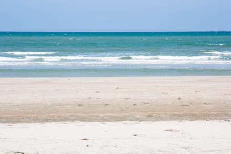 sea on the sand beach Stock Photo - 22271968