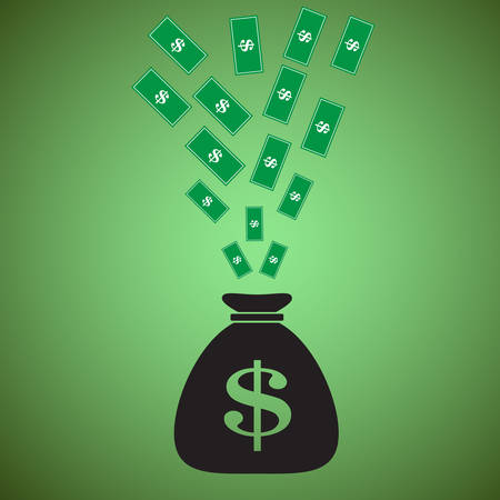 money bag: Money bag