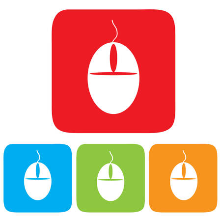 Computer mouse icon, Vector illustration Stock Vector - 22440927