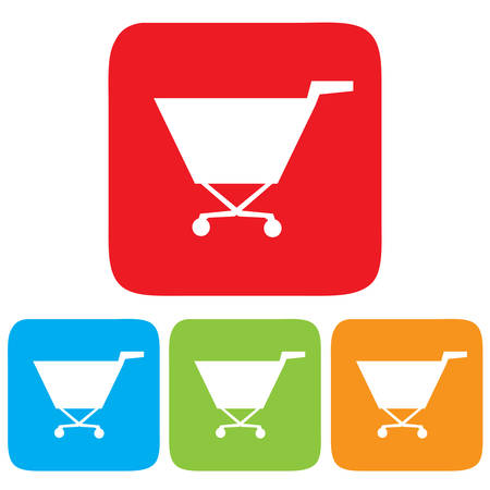 shopping cart icon, Vector illustration Vector