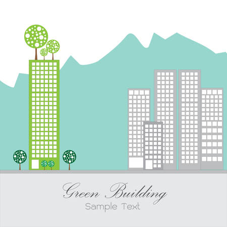 Green building Vector