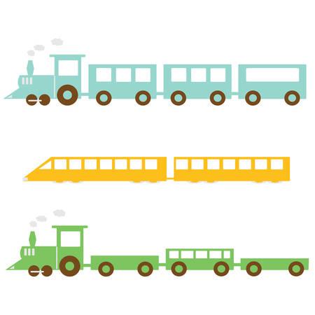鉄道  イラスト・ベクター素材