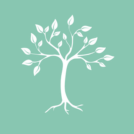 R�sum� arbre Vector illustration