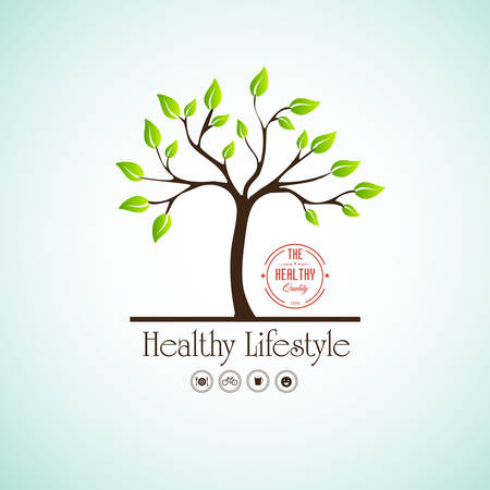 Healthy lifestyle Vector