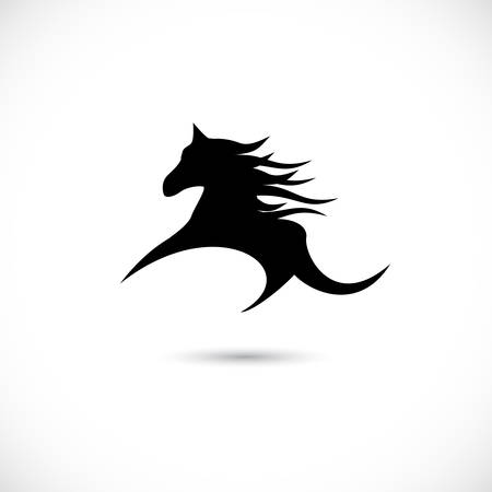 Horse symbol, vector illustration Vector