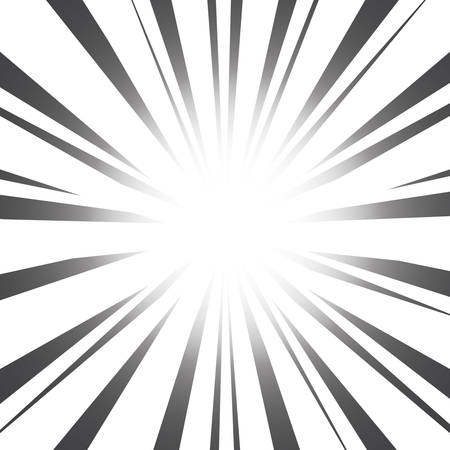 Radial Speed Lines graphic effects Illustration