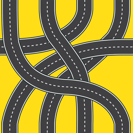 Road patterns seamless wallpapers
