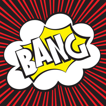 Bang comic, Vector illustration comic style Stock Vector - 26529942