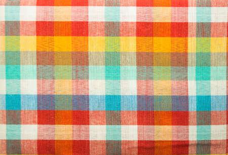 thai silk: Colorful loincloth fabric background Stock Photo