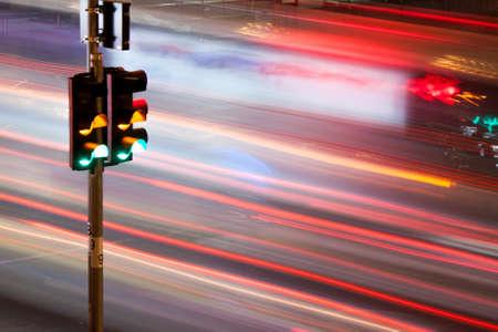 red traffic light: Traffic light