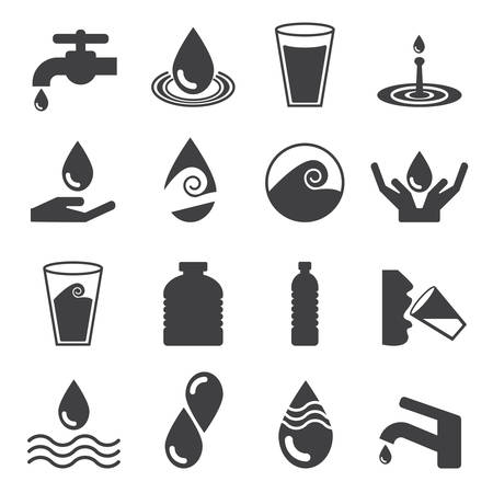 or water: Water icon