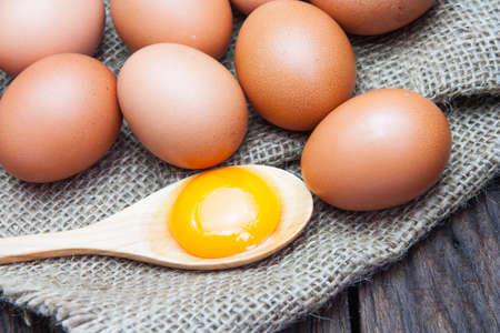 yolks: Eggs and egg yolks