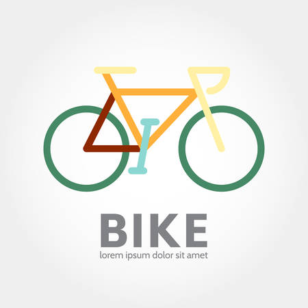Bike design. bicycle concept icon