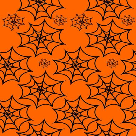 cobweb: Cobweb Halloween seamless pattern
