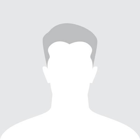 male face: Male avatar icon, silhouette profile icon